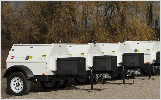 Mobile Fleet of Power Generators