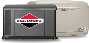 Briggs and Stratton, Kohler Standby Generators